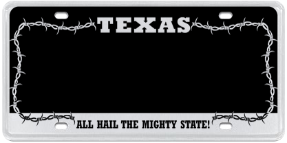 Texas Barbed Wire - Black